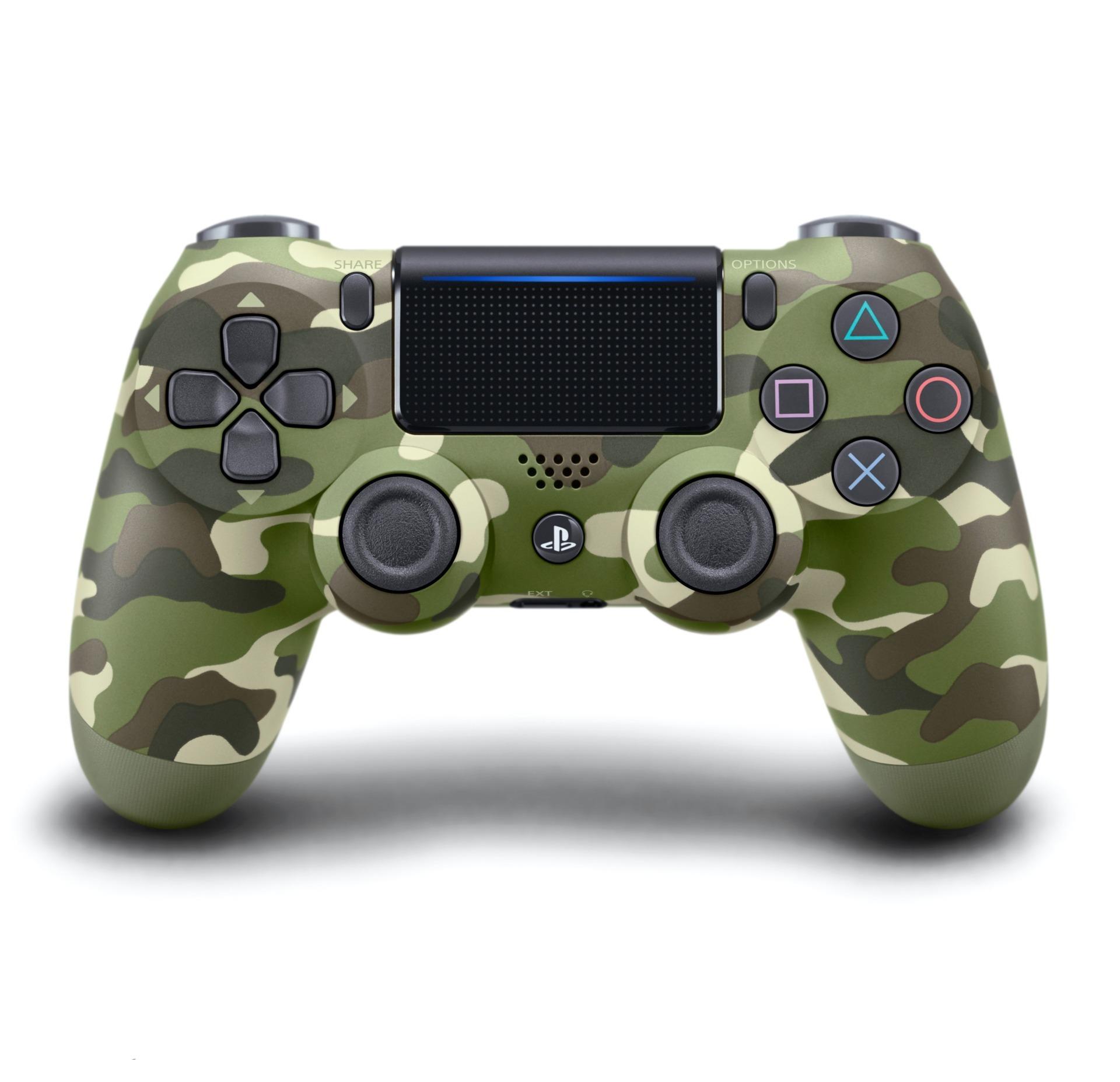 DualShock 4 ovladač - Green Cammo V2 (PS4)