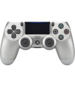 DualShock 4 ovladač - Stříbrný V2 (PS4)