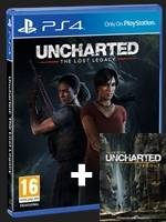 Uncharted: The Lost Legacy + Uncharted Artbook (PS4)