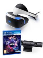 PlayStation VR + kamera + VR Worlds