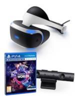 PlayStation VR + kamera + VR Worlds & Super Stardust VR ZDARMA