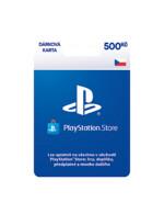 PlayStation Store - Naplnění peněženky 500 Kč