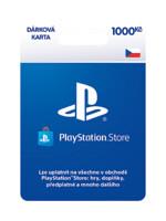 PlayStation Store - Naplnění peněženky 1000 Kč (PS4)