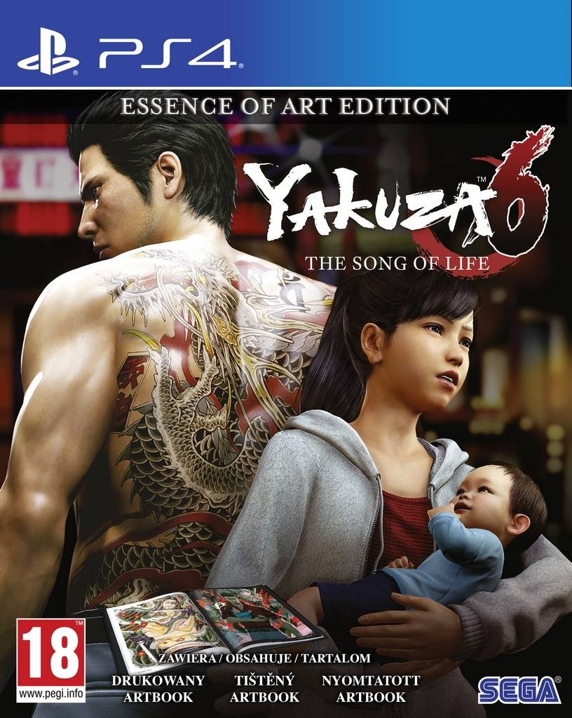 Yakuza 6: The Song of Life - Essence of Art Edition (PS4)