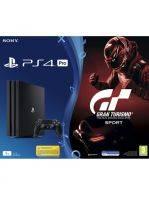 Konzole PlayStation 4 Pro 1TB + Gran Turismo Sport + Bloodborne GOTY (PS4) + DÁREK: Kšiltovka + soutěž + hra zdarma