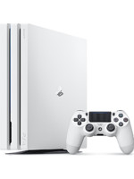 Konzole PlayStation 4 Pro 1TB - Glacier White
