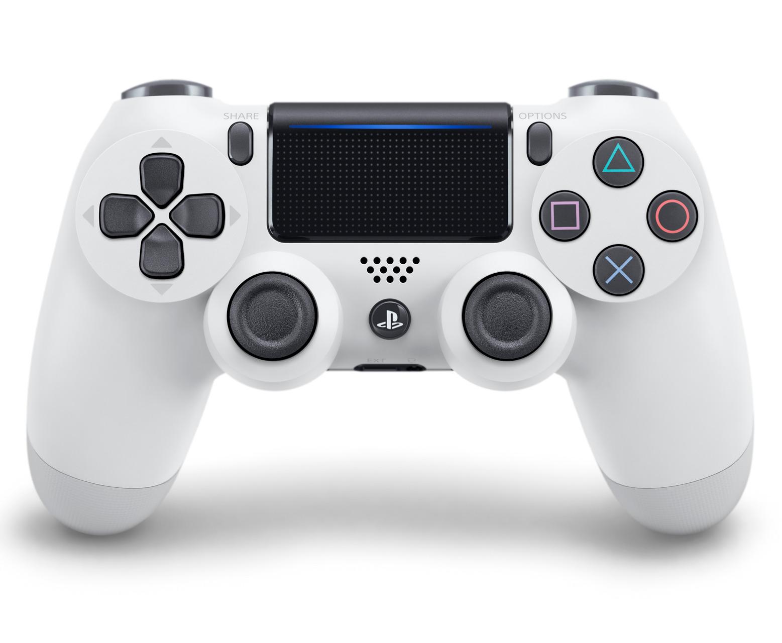 DualShock 4 ovladač - Bílý V2 (PS4)