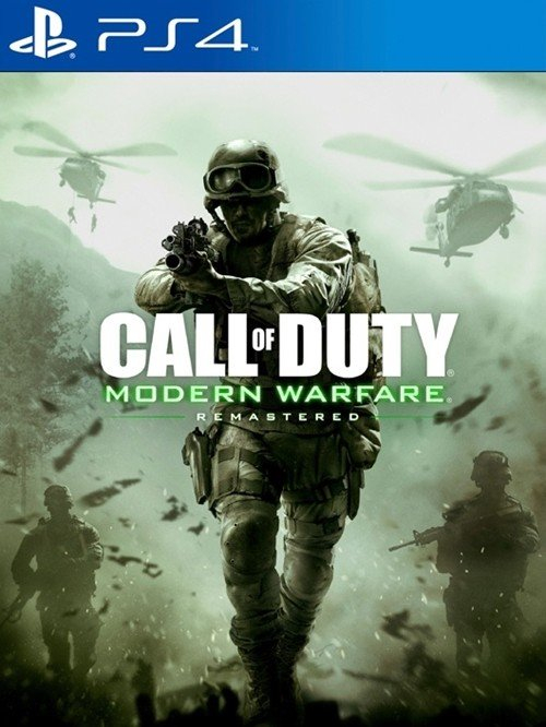 Call of Duty: Modern Warfare Remastered BAZAR (PS4)