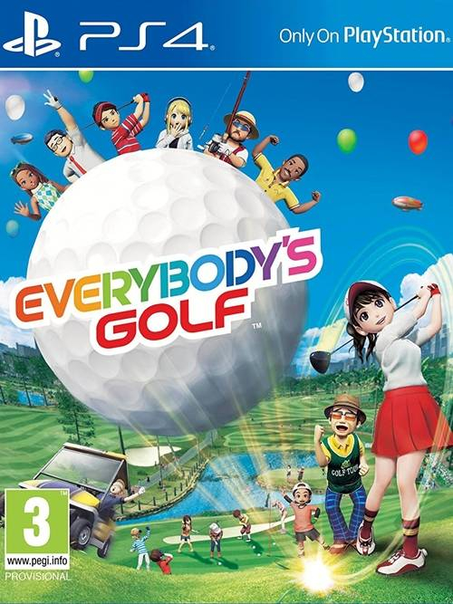 Everybodys Golf BAZAR (PS4)