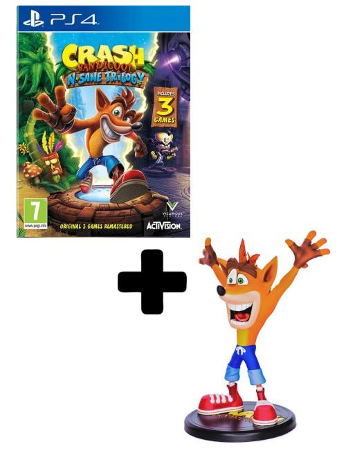 Crash Bandicoot N.Sane Trilogy - Xzone edice (PS4)