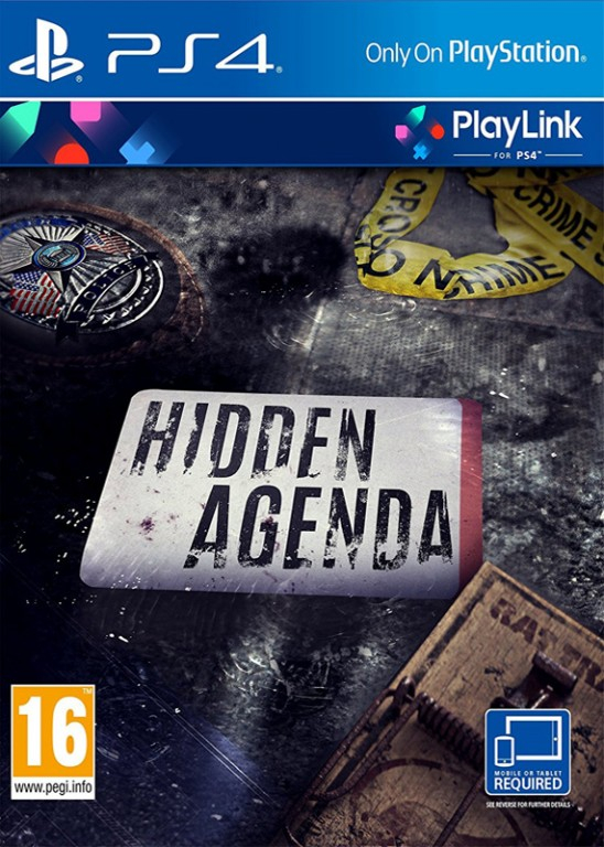 Hidden Agenda BAZAR (PS4)