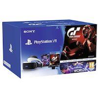 PlayStation VR v2 + kamera + Gran Turismo Sports & VR Worlds