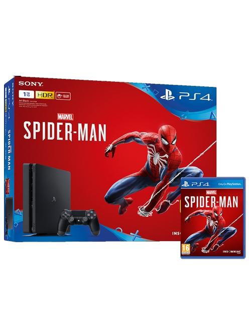 Konzole PlayStation 4 Slim 1TB + Spider-Man (PS4)