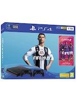 Konzole PlayStation 4 Slim 1TB + FIFA 19 + 2x ovladač