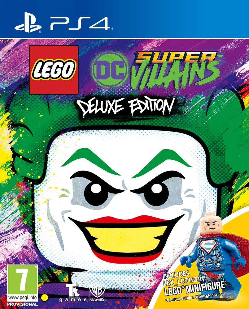LEGO DC Super-Villains - Deluxe Edition (PS4)