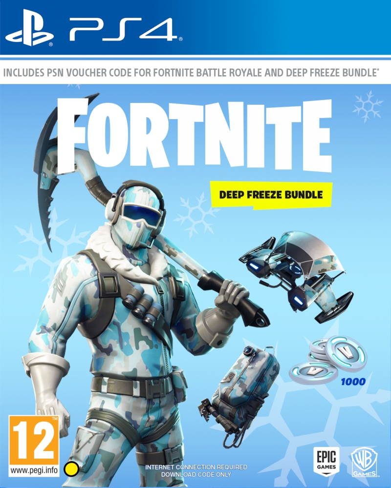 Fortnite - Deep Freeze Bundle (PS4)