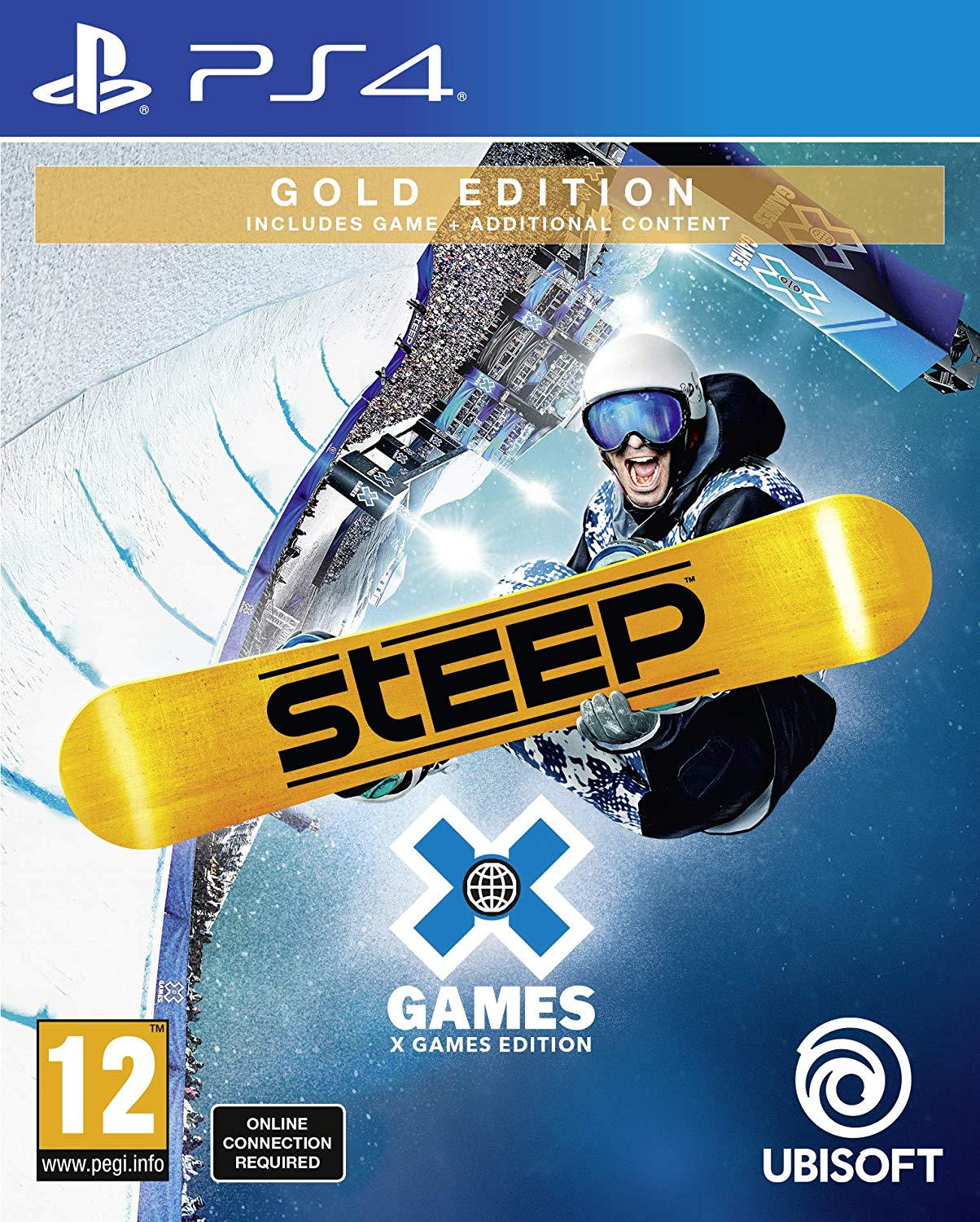 Steep - X Games Gold Edition (PS4)