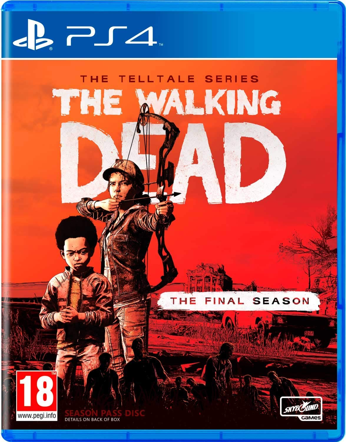 The Walking Dead: Telltale Series - Final Season (PS4)