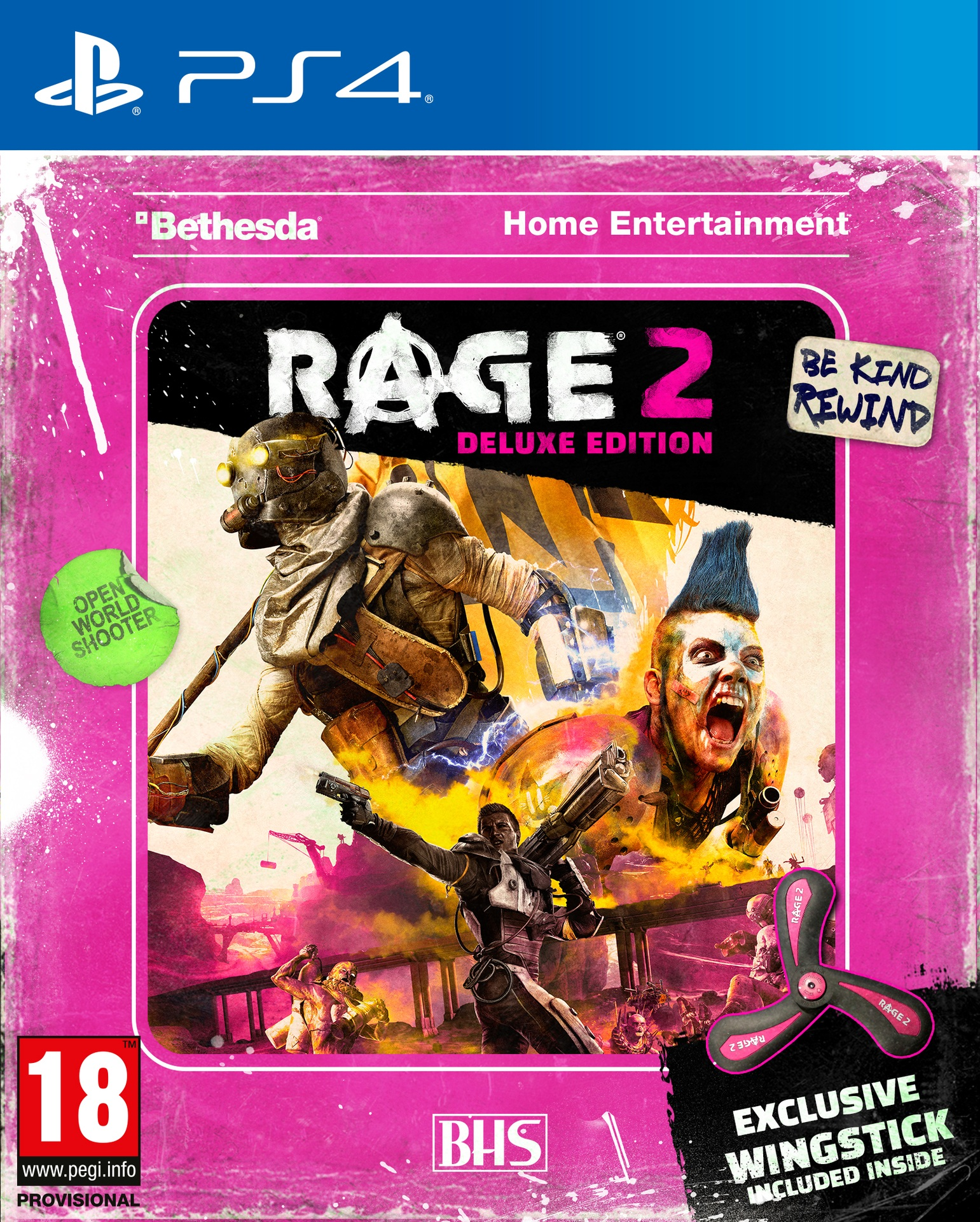 RAGE 2 - Wingstick Deluxe Edition (PS4)