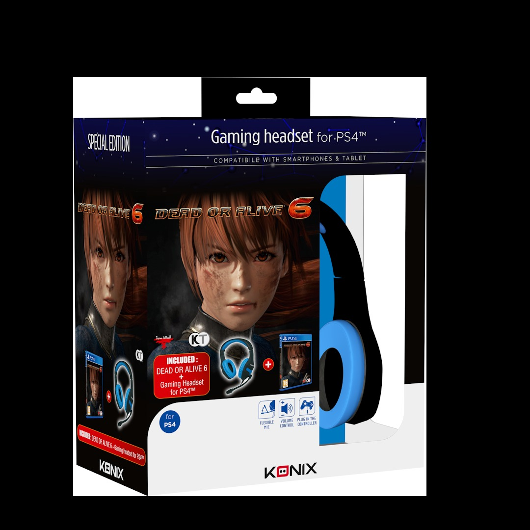 Dead Or Alive 6 - Konix Bundle (PS4)