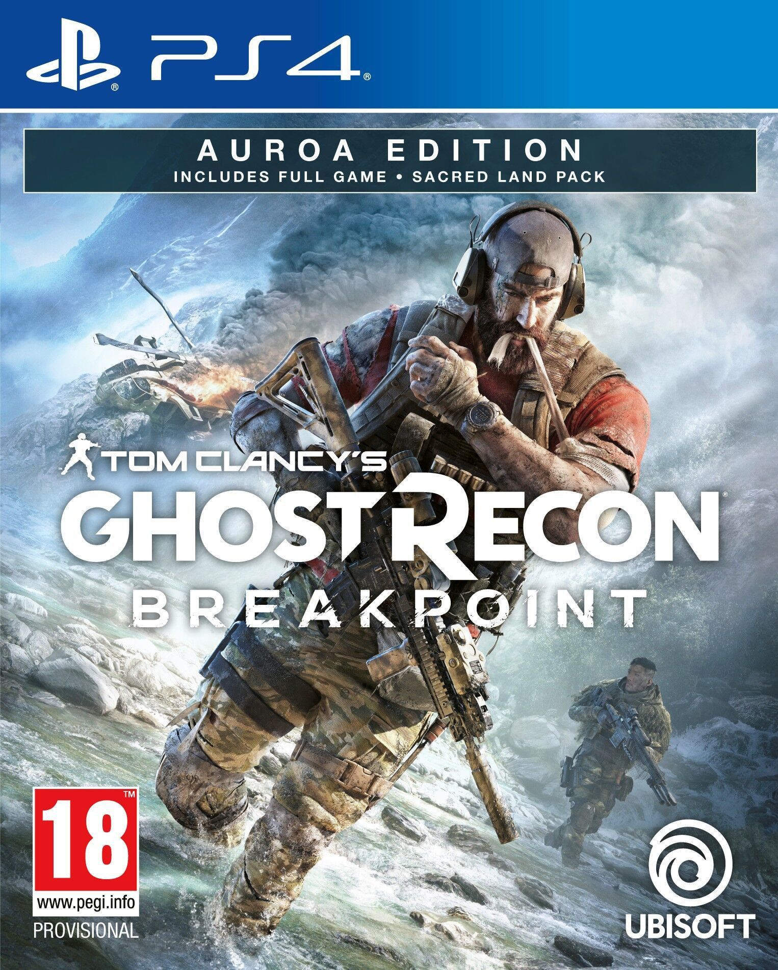 Tom Clancy's Ghost Recon: Breakpoint - Auroa Edition (PS4)