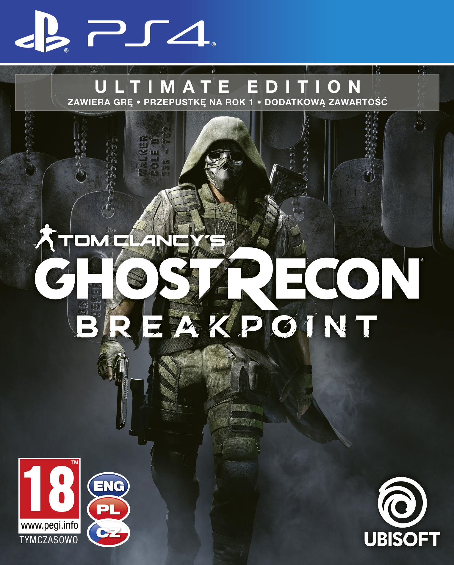 Tom Clancy's Ghost Recon: Breakpoint - Ultimate Edition (PS4)