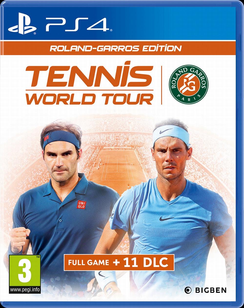 Tennis World Tour - Roland-Garros Edition (PS4)
