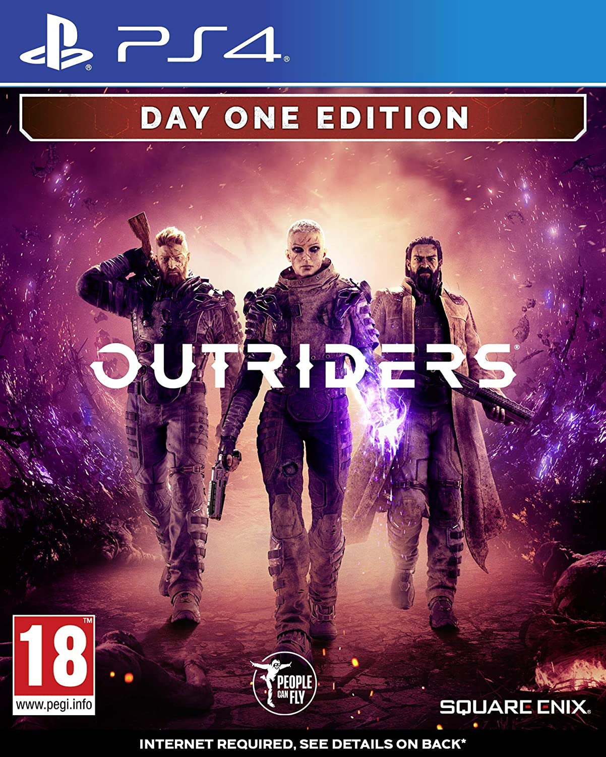 Outriders - Deluxe Edition (PS4)