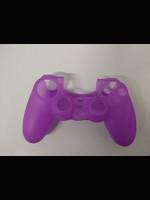 Silikonový kryt na DualShock 4 - fialový