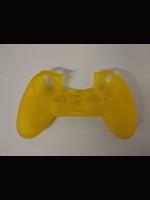Silikonový kryt na DualShock 4 - žlutý