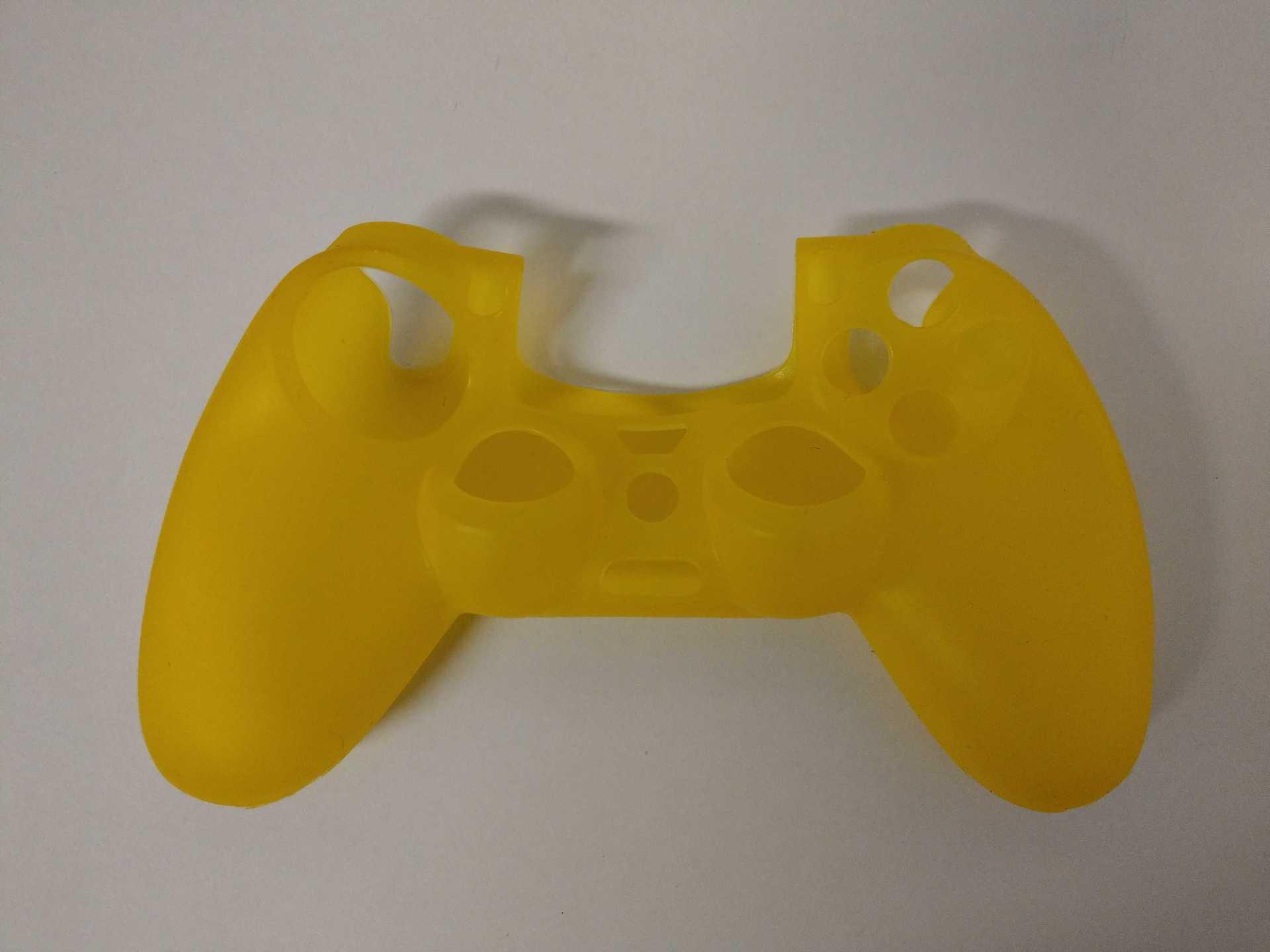 Silikonový kryt na DualShock 4 - žlutý (PS4)
