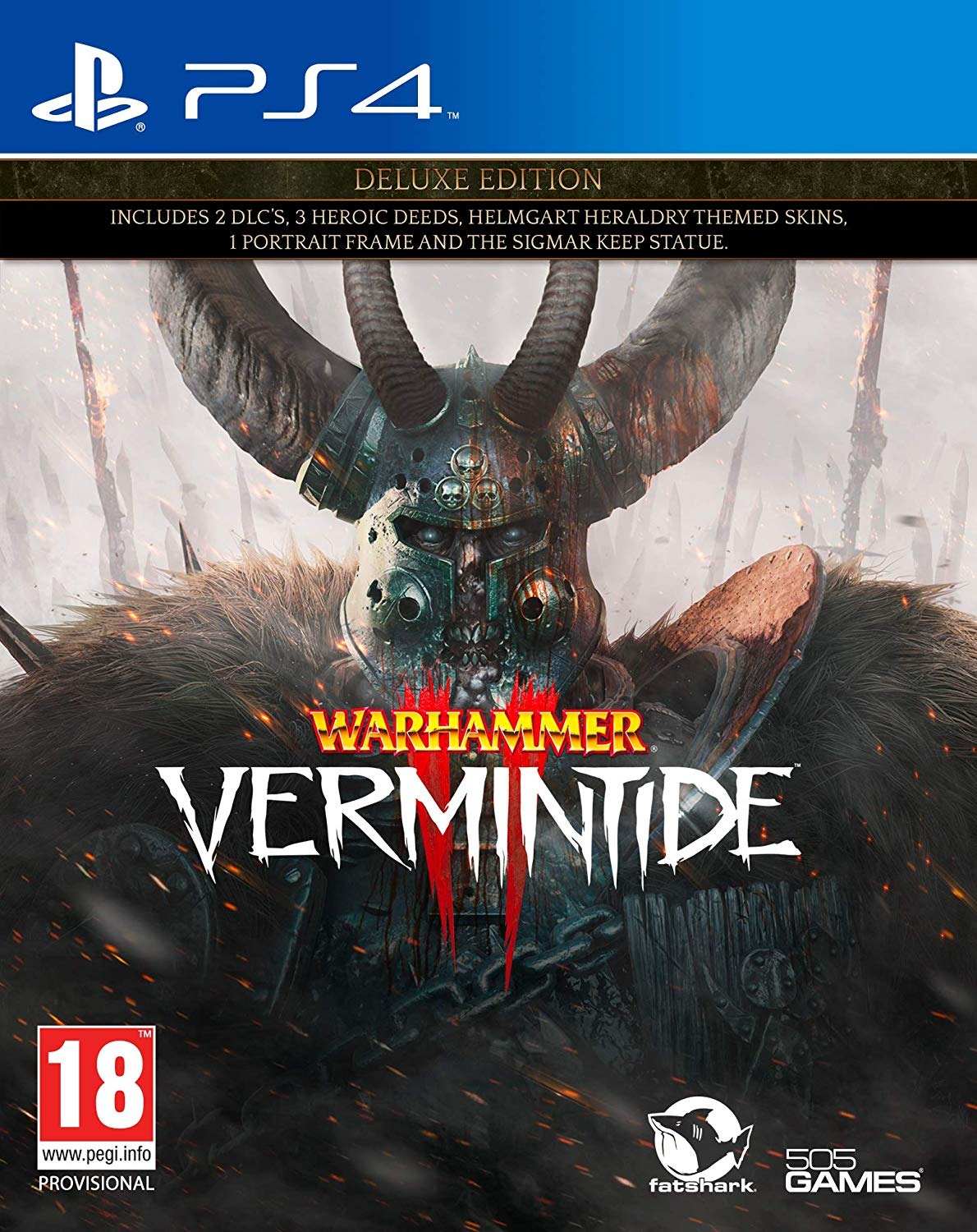 Warhammer: Vermintide 2 - Deluxe Edition (PS4)