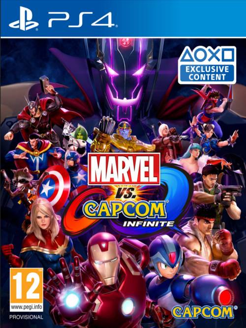 Marvel vs. Capcom: Infinite BAZAR (PS4)