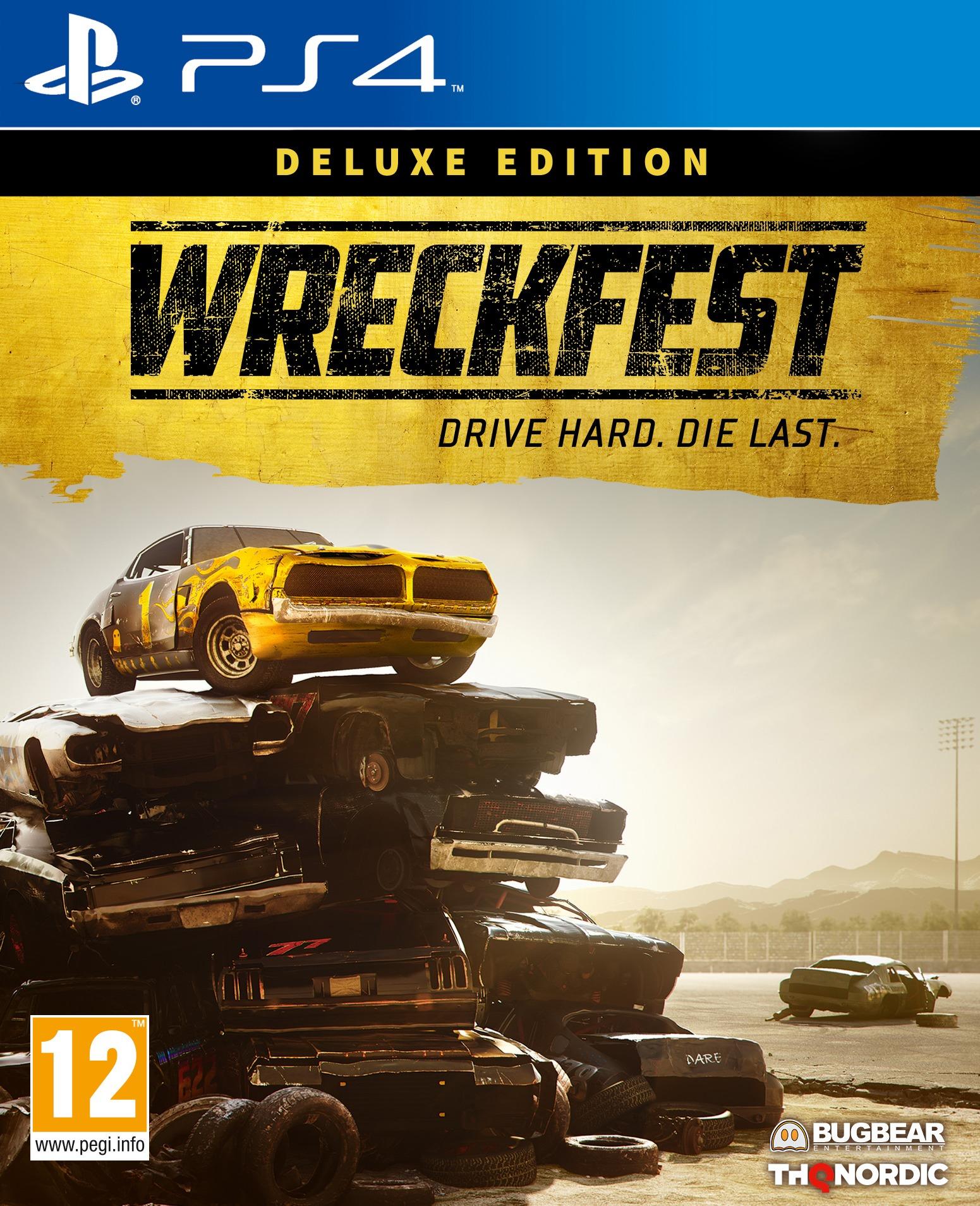 Wreckfest - Deluxe Edition (PS4)