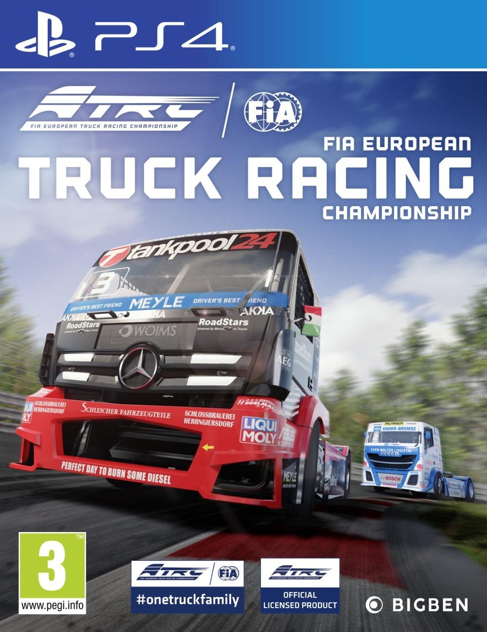 FIA European Truck Racing Championship (PS4)