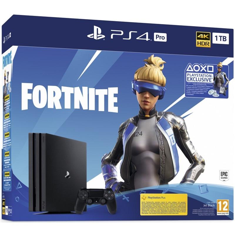 Konzole PlayStation 4 Pro 1TB + balíček Fortnite 2000 V Bucks (PS4)