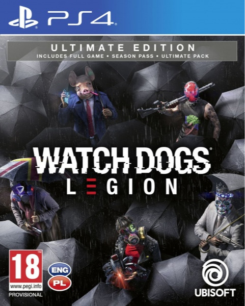 Watch Dogs Legion - Ultimate Edition (PS4)