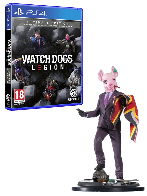 Watch Dogs Legion - Ultimate Edition + Figurka Resistant of London (PS4)