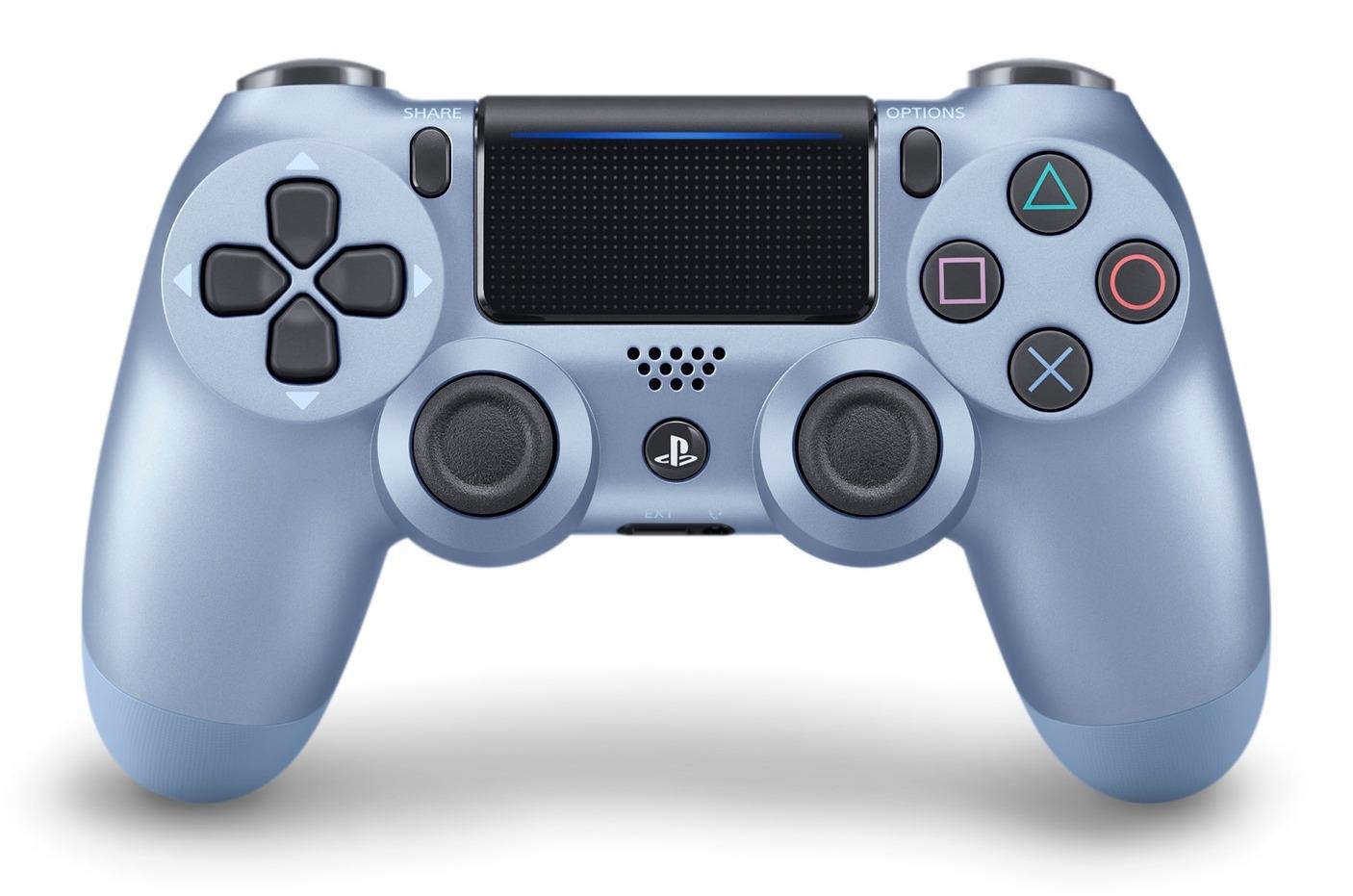 DualShock 4 ovladač - Titanium Blue V2 (PS4)
