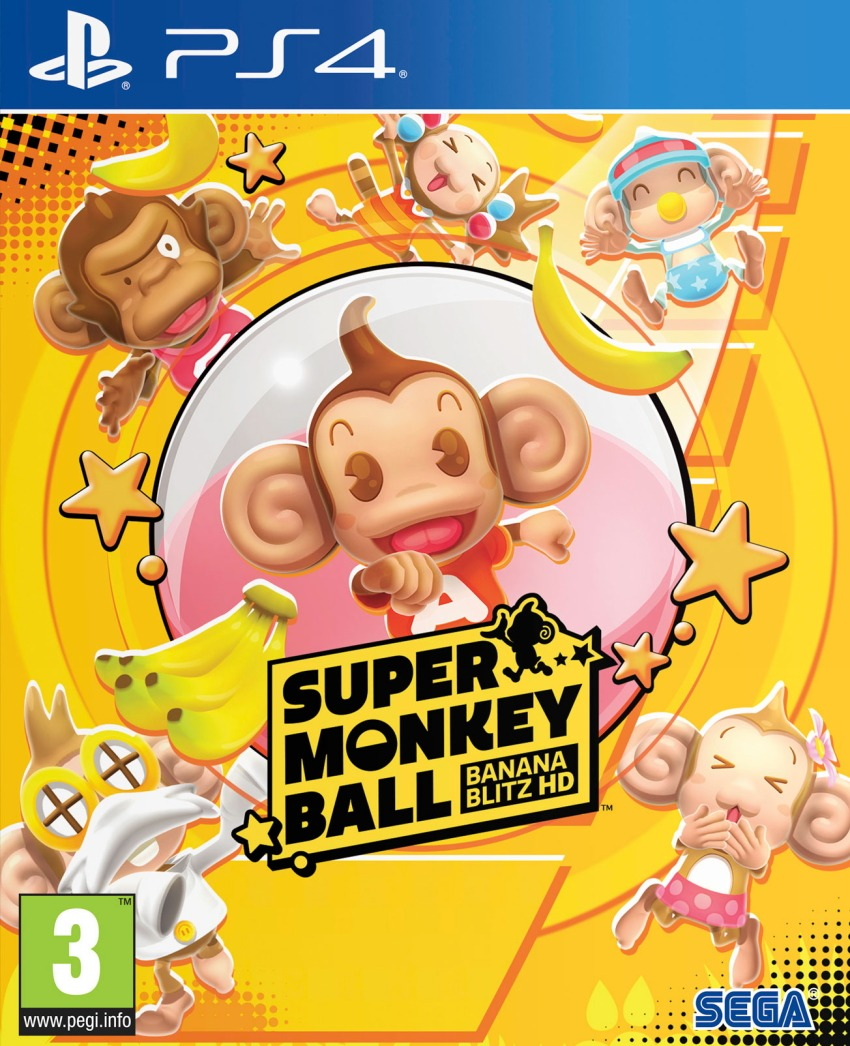 Super Monkey Ball: Banana Blitz HD (PS4)