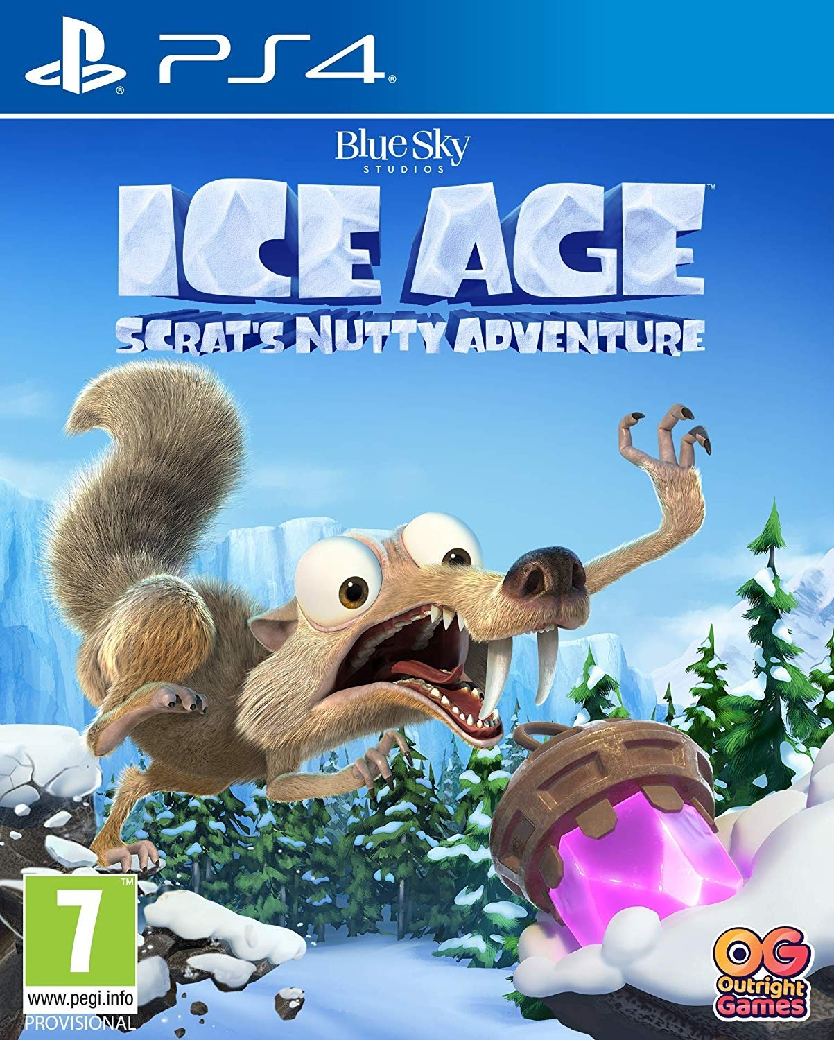 Ice Age: Scrats Nutty Adventure (PS4)