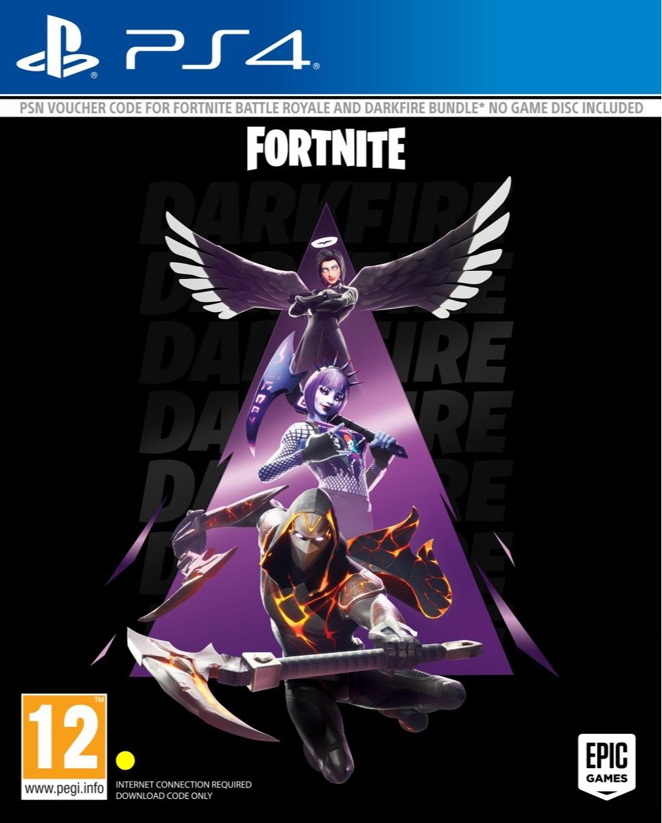 Fortnite - Darkfire Bundle (PS4)