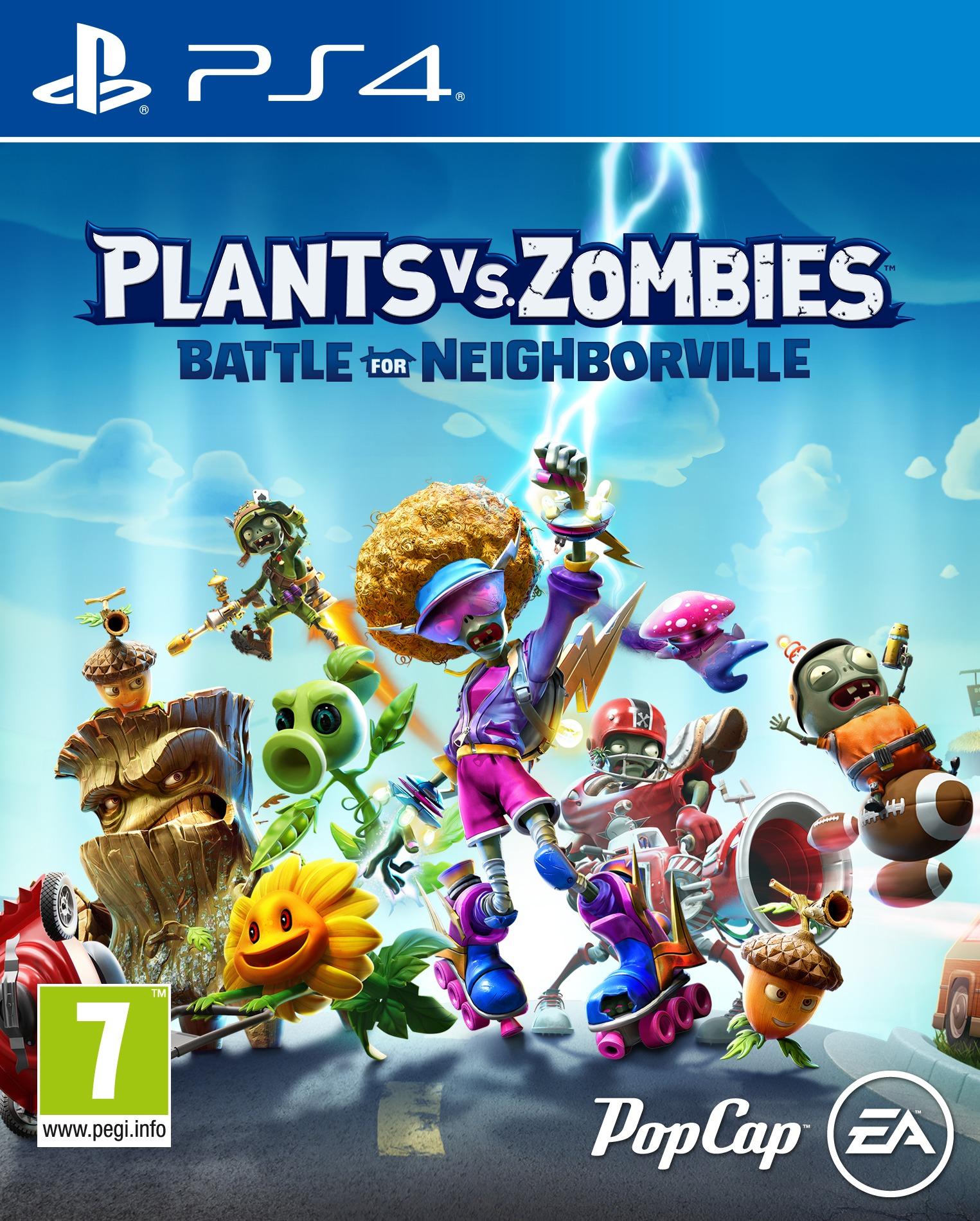 Plants vs Zombie: Battle for Neighborville (PS4)