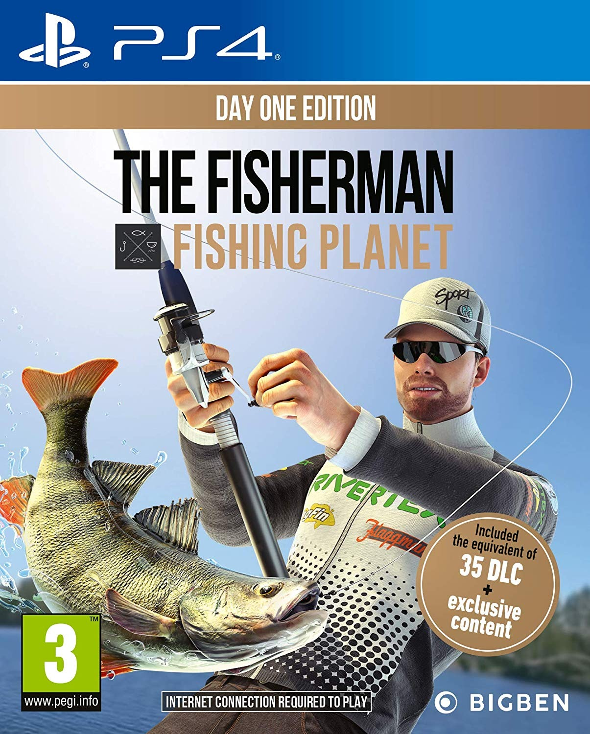 The Fisherman: Fishing Planet - Day One Edition (PS4)