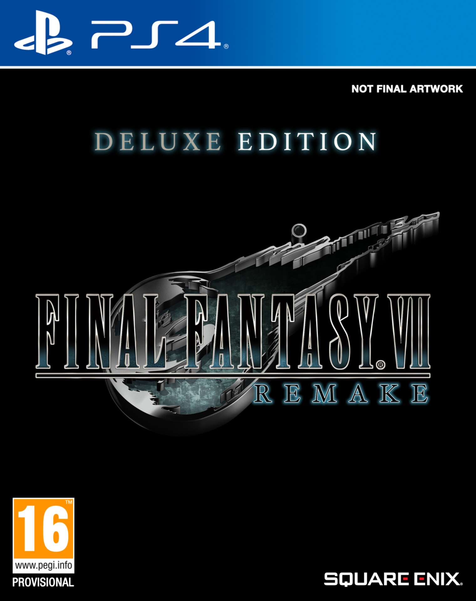 Final Fantasy VII Remake - Deluxe Edition (PS4)