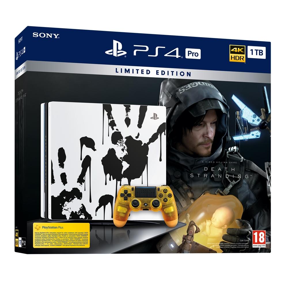 Konzole PlayStation 4 Pro 1TB  Limited Edition + Death Stranding (PS4)
