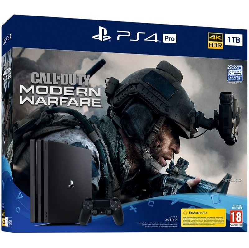 Konzole PlayStation 4 Pro 1TB + COD: Modern Warfare (PS4)