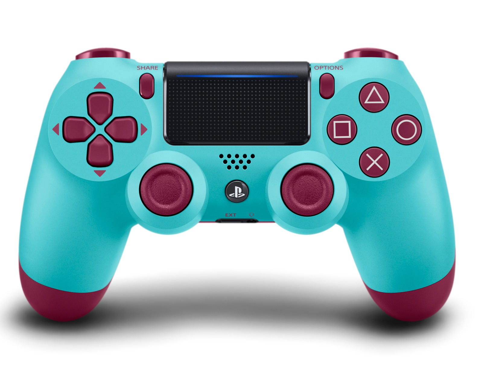 DualShock 4 ovladač - Berry Blue V2 (PS4)