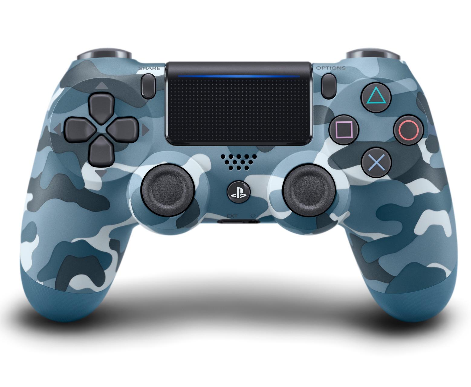 DualShock 4 ovladač - Blue Camouflage V2 (PS4)