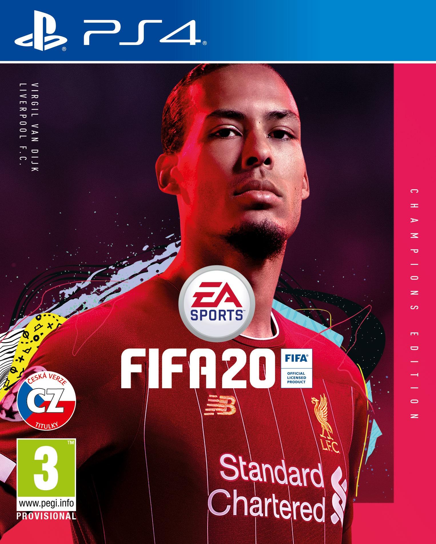 FIFA 20 - Champions Edition BAZAR (PS4)